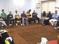 """مؤسسة """"وجود """" بعدن تدرب (20) شاب وشابة إدارة الحوارات المجتمعية ضمن مشروع تعزيز الأمن المجتمعي"""