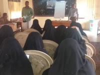 دورة تدريبية للعاملين الصحيين المشاركين  بالحملة الوطنية للتحصين ضد مرض شلل الأطفال بطور الباحة