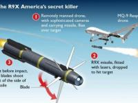 """الجيش الأمريكي يستخدم صاروخ """" النينجا """" ذو الشفرات 6 القاتلة في اغتيال سليماني"""