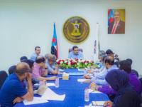 الأمانة العامة للمجلس الانتقالي تعقد اجتماعها الدوري برئاسة اللواء السقطري