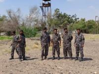 قيادة الكتيبة الرابعة بقوات حماية المنشآت الحكومية تتفقد جاهزية منتسبيها بمحافظة لحج