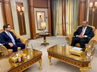 President Aidaroos Al-Zubaidi receives officials from Federal Republic of Germany