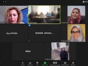 اجتماع يناقش عن النساء الأمنيات والعسكريات والدور المنشود في وقف إطلاق النار وعملية السلام