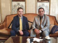 ممثل إدارة الشؤون الخارجية الشبحي يلتقي نائب سفيرة جمهورية ألمانيا الاتحادية