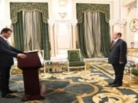 لملس يؤدي اليمين الدستورية محافظا لعدن