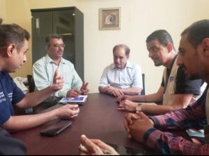 محافظ الضالع يلتقي بمسؤول منظمة الأمم المتحدة لقطاع المشاريع UNOPS