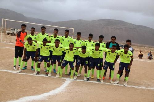 نادي النصر إلى نصف النهائي بعد تجاوزه الجمهور برباعية في بطولة خريف بنسختها الرابع