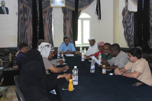 تنفيذية انتقالي المهرة تعقد اجتماعها الأول لشهر سبتمبر