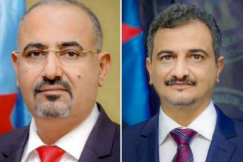 محافظ العاصمة عدن يُعزّي الرئيس الزُبيدي بوفاة نجل شقيقه الشاب مالك الزُبيدي