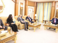 """During his meeting with the envoy of the Secretary-General of the United Nations ... President Al-Zubaidi clarifies the council's position on the """"joint declaration."""""""