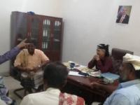 لجنة الإغاثة والإشراف على عمل المنظمات تستعرض تقريرها لقيادة انتقالي أبين