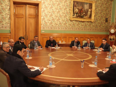 President Al-Zubaidi holds talks at Ministry  of Foreign Affairs of the Russian Federation