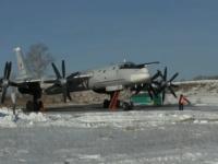 """رحلة تدريبية لأحد مكونات الثالوث النووي الروسي """"Tu-95MS"""""""