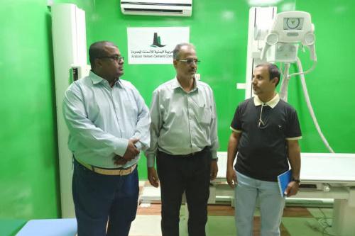 وفد من مؤسسة صلة للتنمية ومراكز الكلى وادي حضرموت يزور المستشفى التخصصي الخيري ومراكز غسيل الكلى شبوة