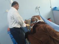 بتوجيهات من اللواء بن بريك.. مقرر الجمعية الوطنية يزور العميد عيدروس محمد سابد ويطمئن على صحته