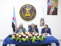 الدكتور الخبجي يلتقي برؤساء دوائر الامانة العامة وكادرها ويتفقد سير العمل فيها