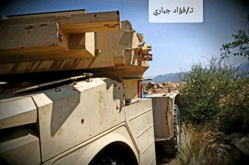 افشال وكسر هجومين منفصلين تزامنا مع عمليات تسلل ومصرع وجرح عدد من عناصر المليشيات الحوثية في الضالع