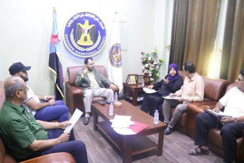 لجنة الإغاثة والأعمال الإنسانية في المجلس الانتقالي تقر آلية توزيع مكرمة الرئيس الزُبيدي الرمضانية