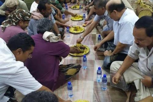 اللواء الركن العامري يحضر فعالية افطار صائم بالأمن العام