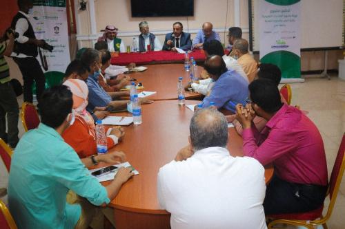 مركز الملك سلمان يدشن مشروع تهيئة وتجهيز مختبرات كلية الطب بجامعة عدن