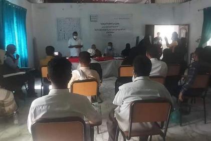 الصندوق الاجتماعي يختتم الدورة التدريبية للاكتشاف المبكر للإعاقة  لعمال المرافق الصحية في محافظة الضالع