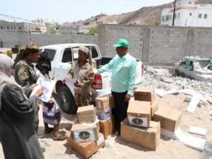 الجمعية الوطنية ترفد اللواء العاشر صاعقة بكمية من الأدوية والمستلزمات الطبية