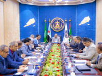 The Presidency of the Southern Transitional Council holds its periodic meeting chaired by President Al-Zubaidi