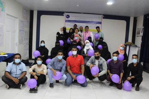 اختتام تدريبي لـ (20) مشاركا تنظمه مؤسسة وجود لمديريات الشيخ عثمان دار سعد المنصورة و البريقة