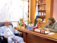 الرئيس الزُبيدي: المهرة تُمثل أهميةً استراتيجية وبُعدًا تاريخيًا وحضاريًا للجنوب