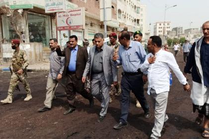 القائم بأعمال محافظ عدن يشيد بدور القطاع الخاص على مساندته جهود قيادة السلطة المحلية بمديرية المنصورة