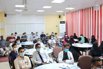 مركز الملك سلمان للإغاثة يختتم بعدن الدورة التدريبية حول البروتوكول العلاجي لفيروس كورونا