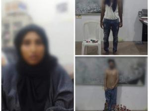 الحزام الأمني عدن يلقي القبض على عصابة لترويج المخدرات والكحول في المنصورة