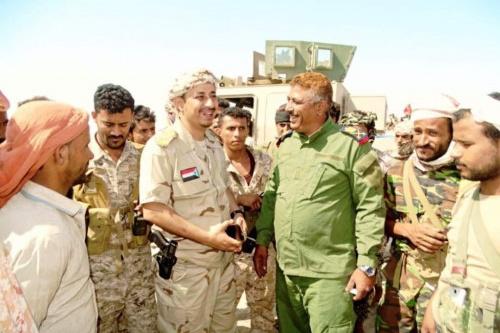 """قائد الإسناد والدعم بلحج """"صالح السيد"""" : على قواتنا المسلحة الجنوبية أن تبقى مستعدة لأي طارئ"""