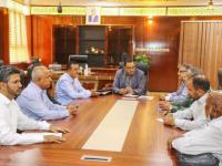 الوزير السقطري يلتقي رئيس مجلس إدارة مصنع الوطنية لتعليب الأسماك والمدير العام للمصنع