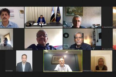فريق الحوار الوطني الجنوبي يعقد اجتماعه الدوري برئاسة الحالمي