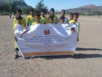 بدعم من لجنة الإنقاذ الدولية .. تدشين منافسات كرة القدم لطلاب المدارس بالضالع