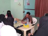 لجنة من انتقالي أبين تزور هيئة مستشفى الرازي للاطلاع على أسباب تفشي الإسهالات