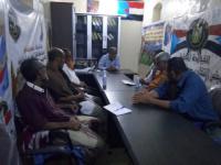 انتقالي الديس الشرقية يطلع على مشكلات أعضاء تعاونيات الصيادين بالمديرية